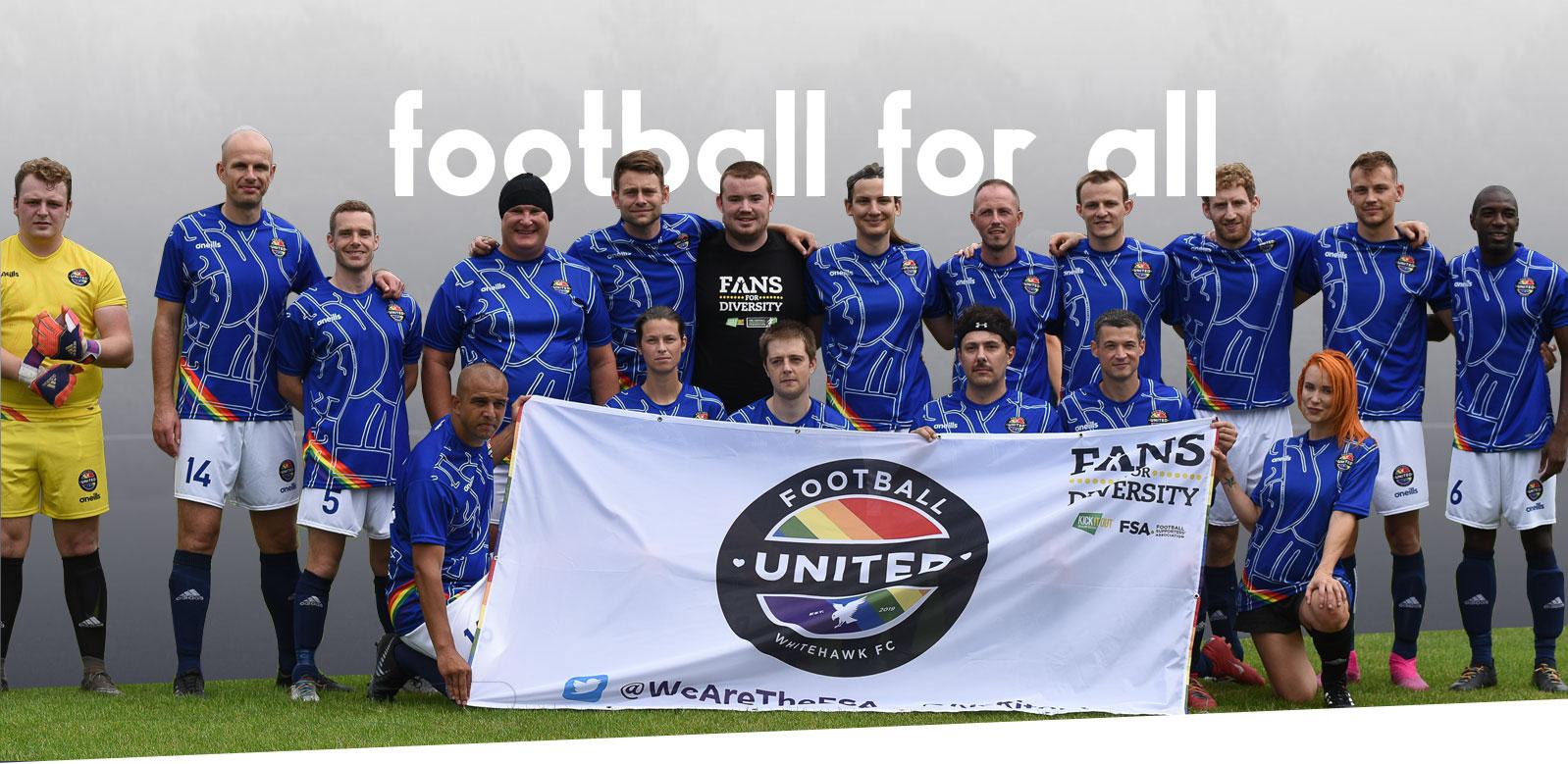 The Rainbow Rovers football team