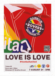 Rainbow Rovers - Love is Love Poster
